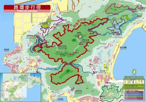 Coloane Trail Map